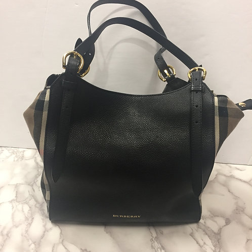 Burberry Canterbury Tote in Beige and Black