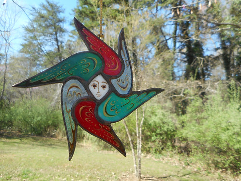 Stained Glass Seraphim (Angel)