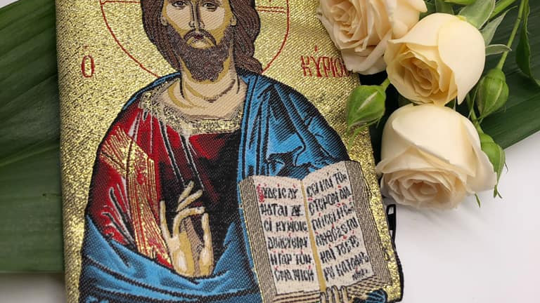 Mt.Athos bag with Our Lord Jesus Christ