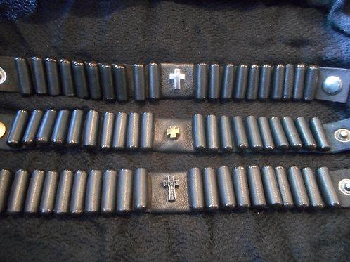 Men's Lestovka, 20 step bracelet, wide, brown