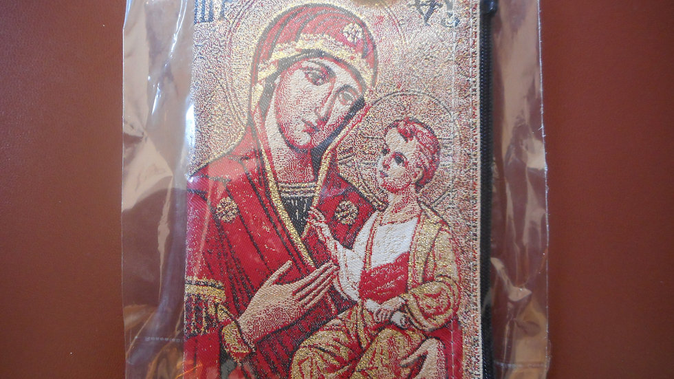 Mt. Athos bag with Panagia in red