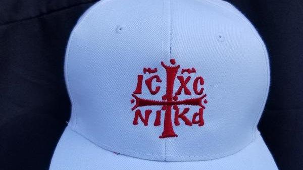 IX CX NIKA Embroidered Cap White/Red
