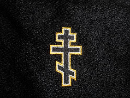 Three Bar Cross Patch Yellow/White