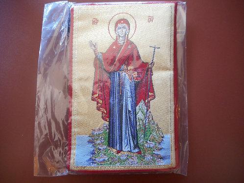Mt. Athos bag with Panagia at Mt. Athos