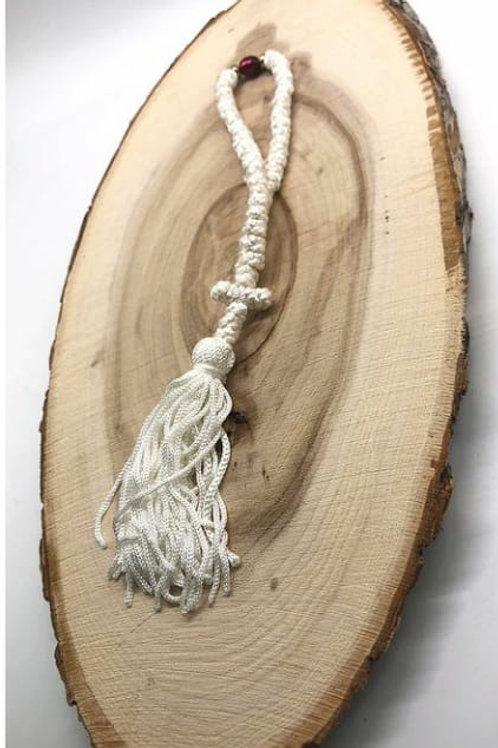 Athos Komboskini 50 knot white