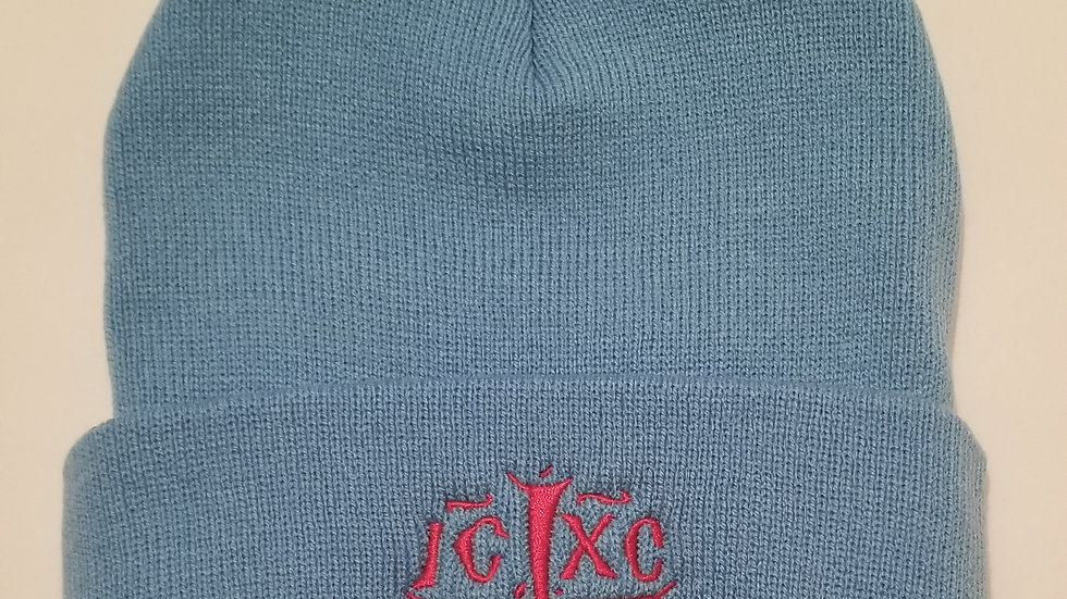 IC XC NIKA Embroidered Beanie