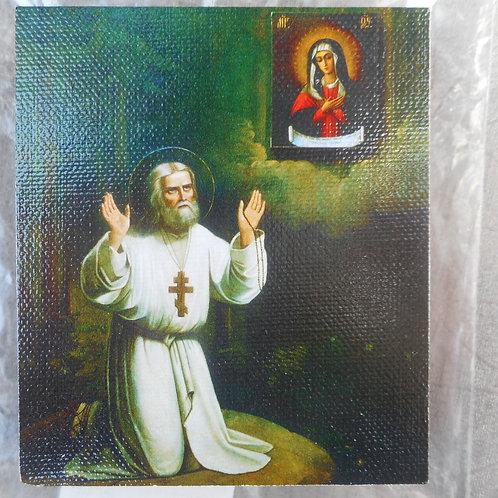 St. Seraphim of Sarov wall icon