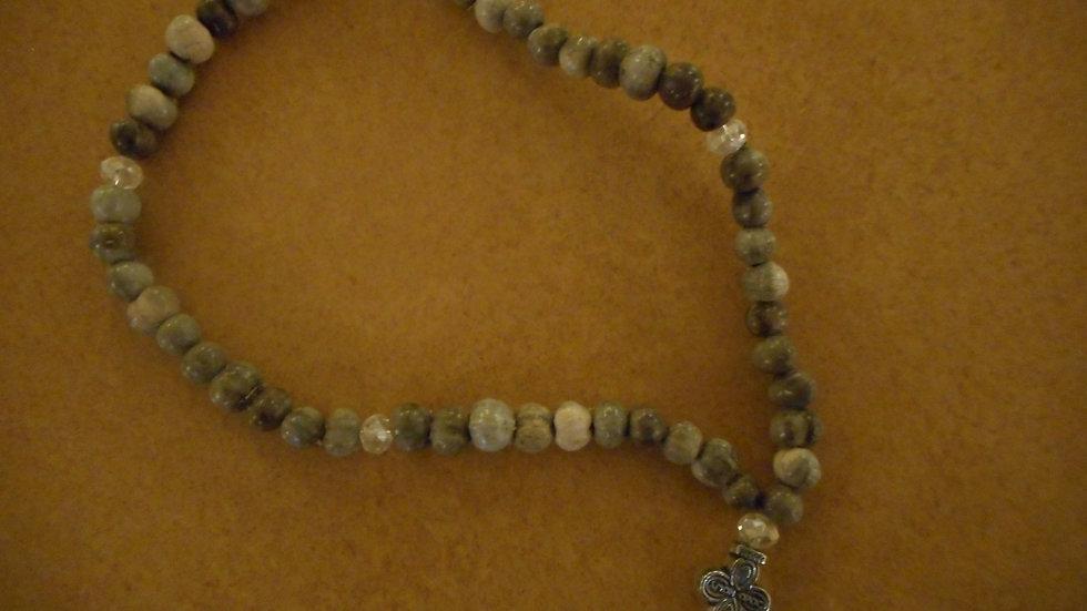 Panagia Tears beads 50 knots translucent beads
