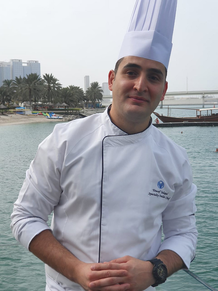 Yousef Jalajel Specialty Outlet Chef at Finz, Beach Rotana Abu Dhabi