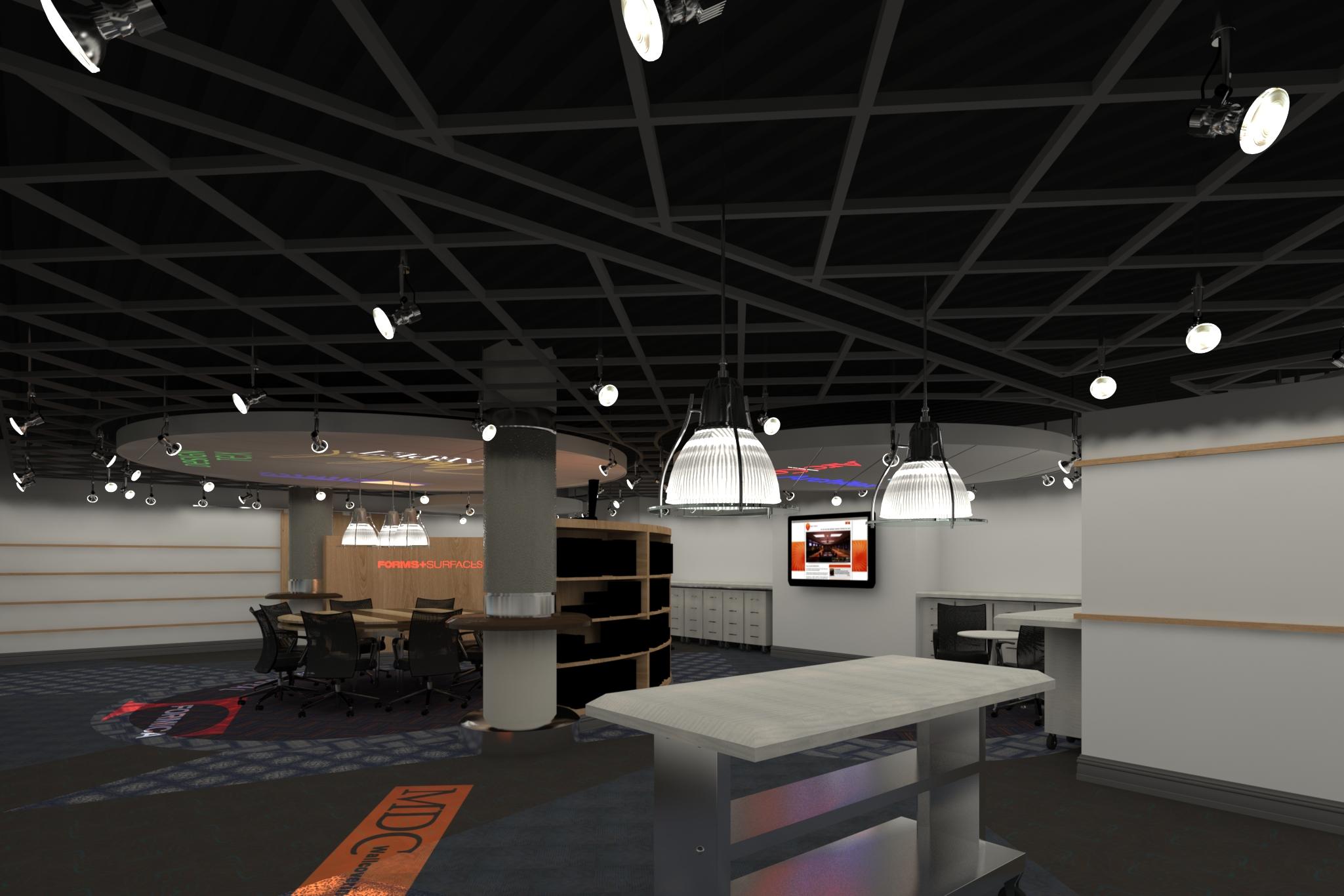 3D Rendering of The Showroom