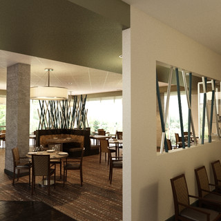 Senior Living Dining interior design