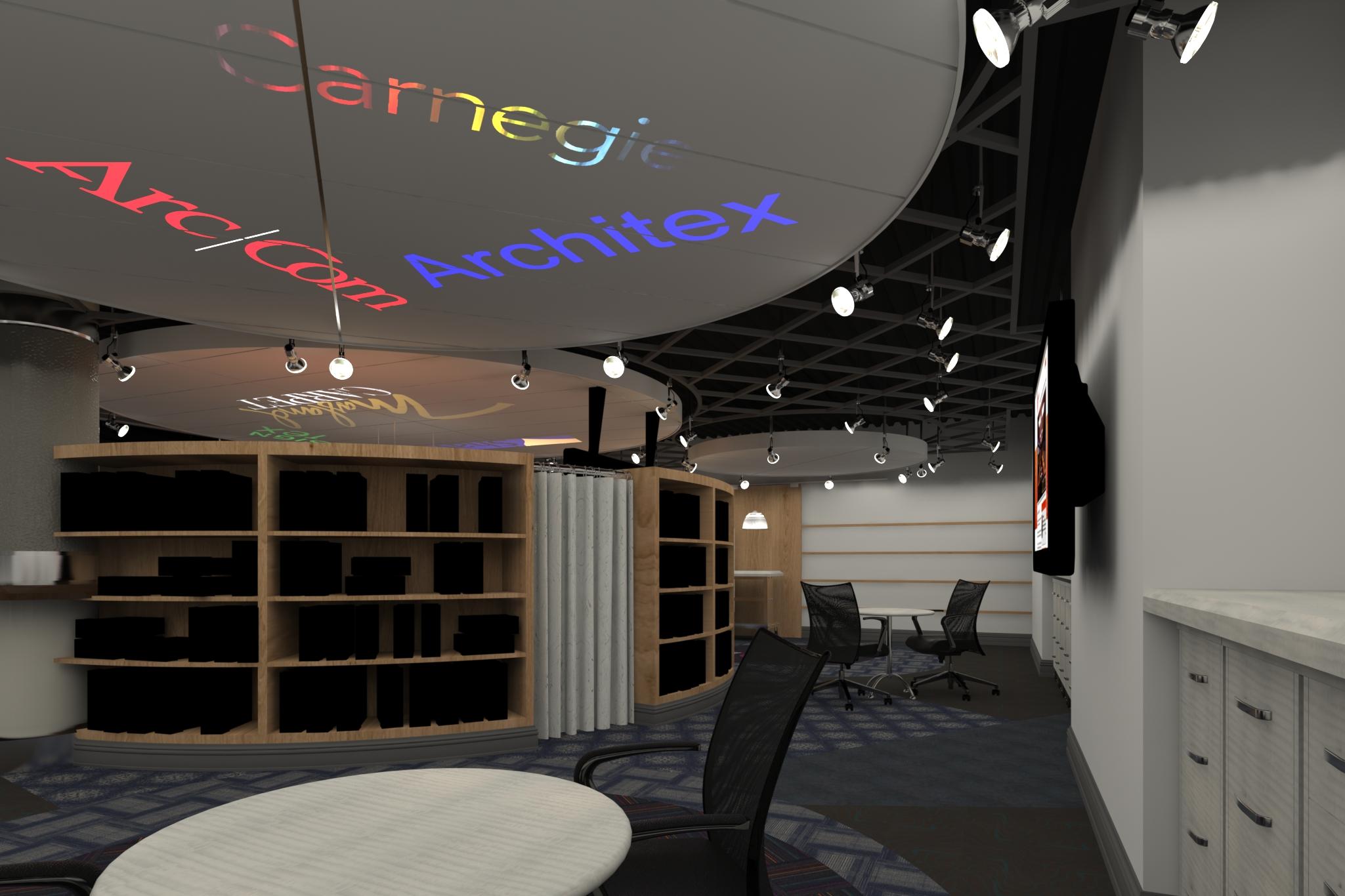 Rendering of The Showroom