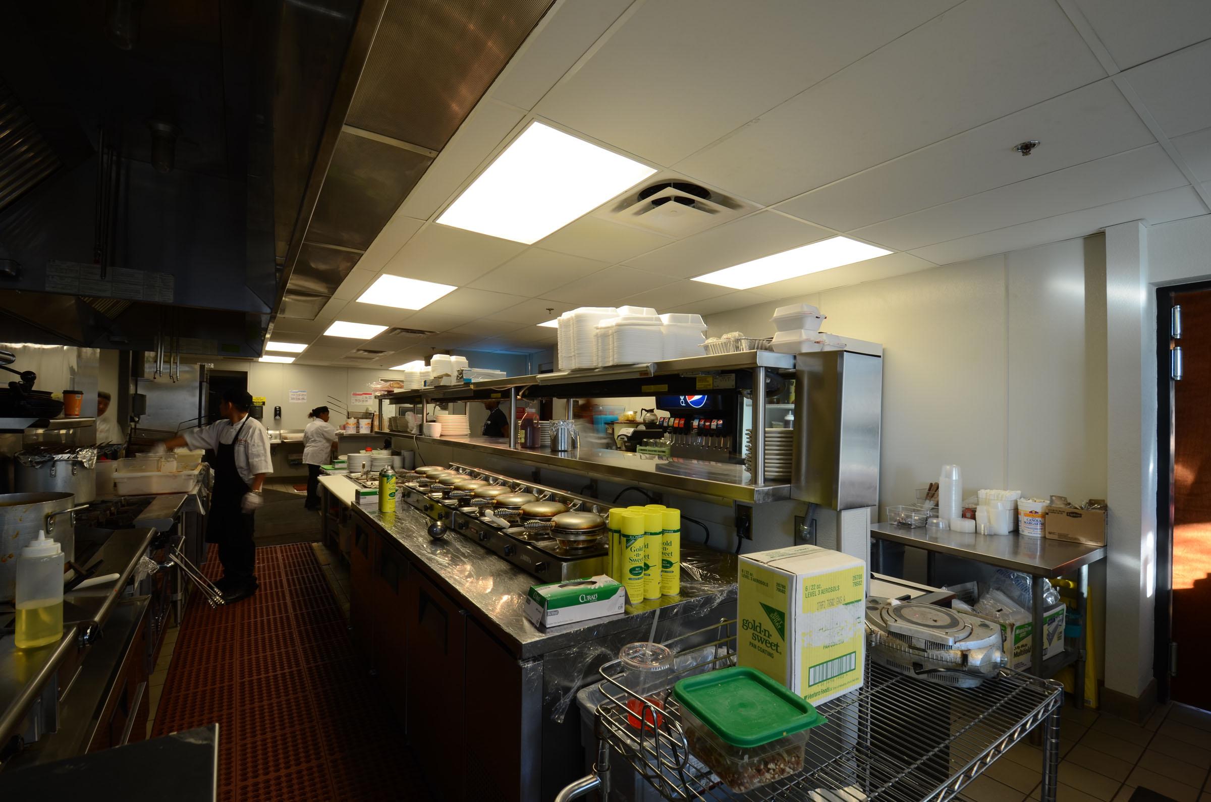 Restaurant Serving Line