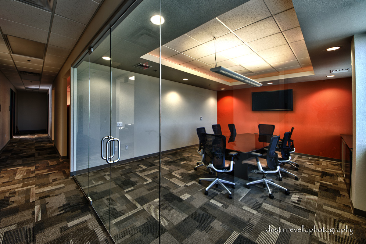 Glass Wall Conference Room