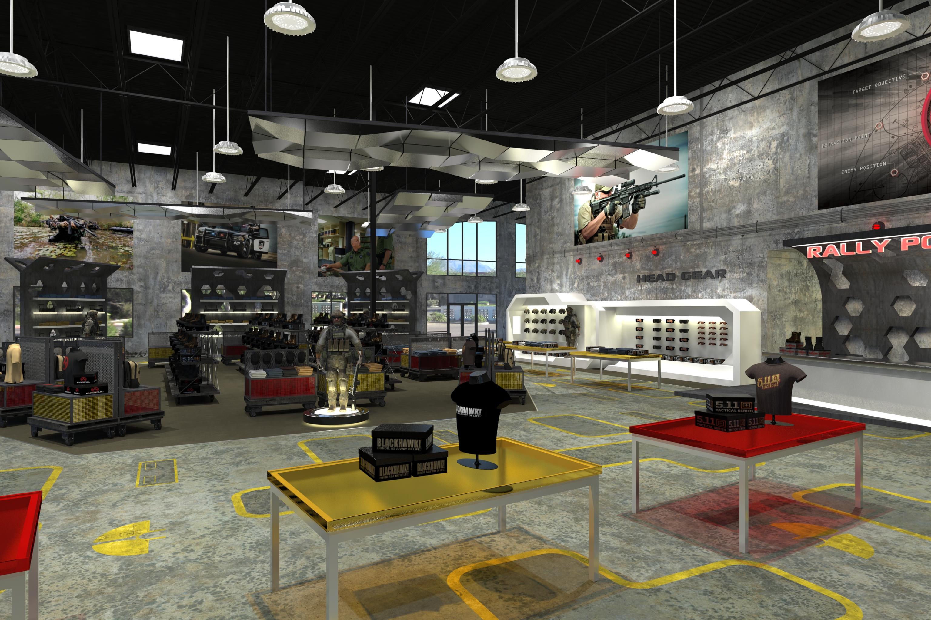 3D Retail Rendering