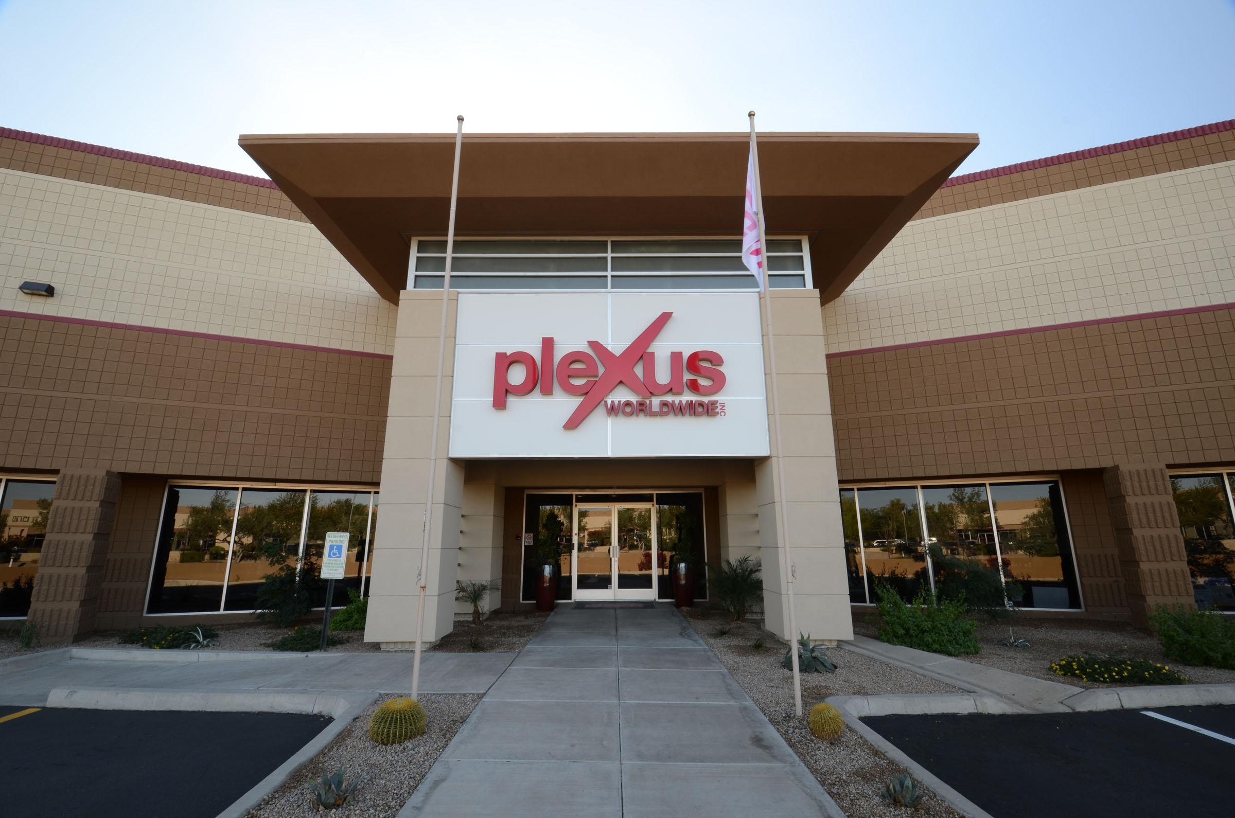 Plexus Exterior Logo Signage
