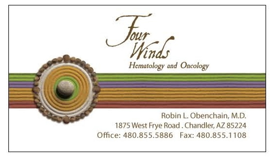 Four Winds Business Card