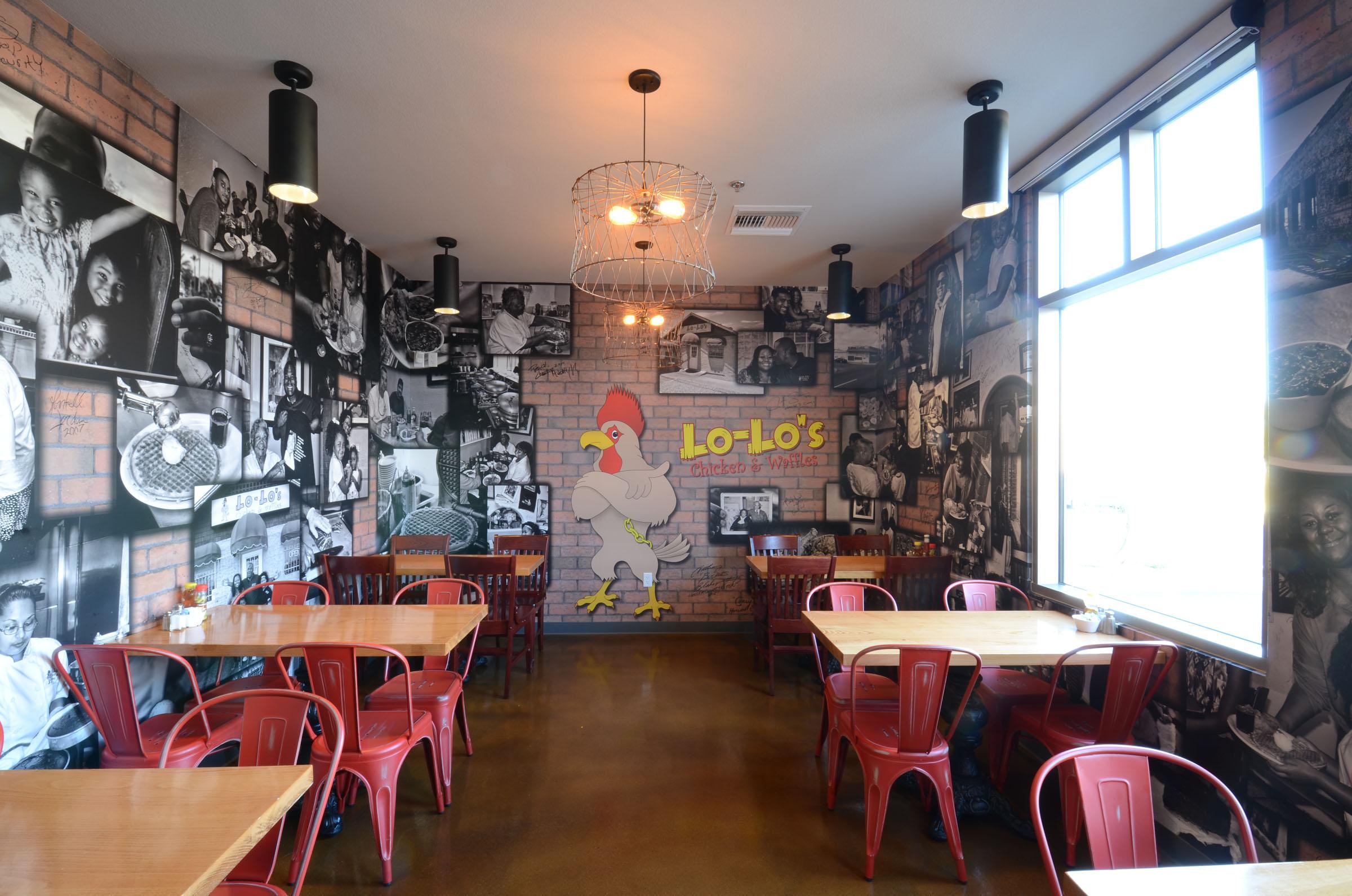 Lo Los Chicken and Waffles