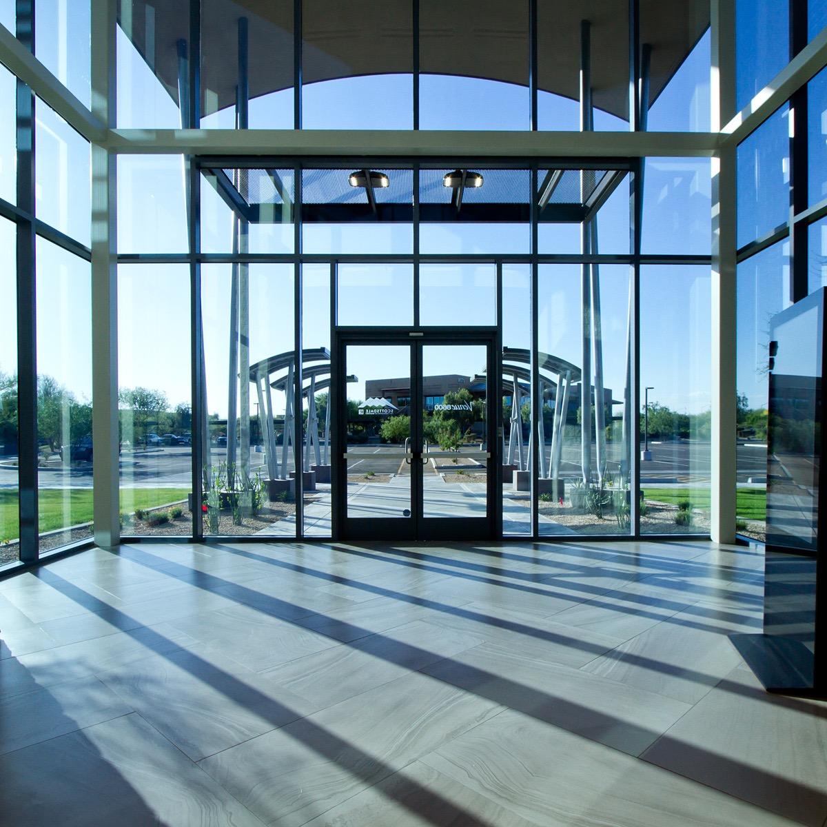 SAAR Grand entrance