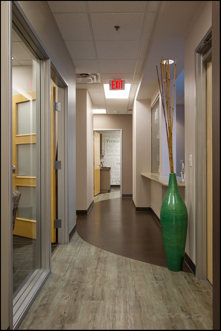 Corridor to Spa Treatments