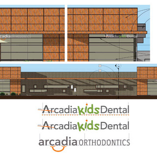 ARCADIA LOGO/SIGNAGE DESIGN