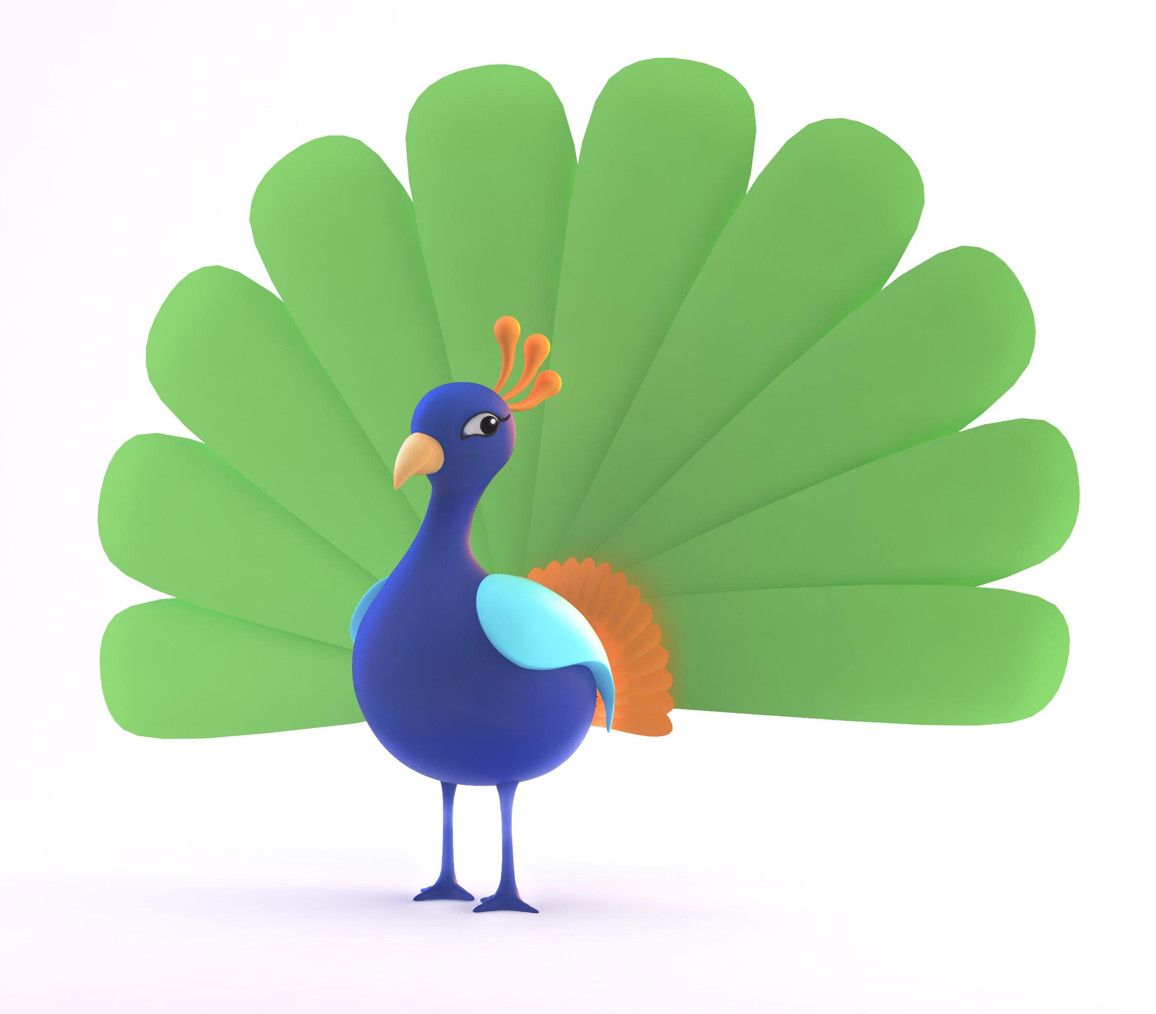 Crazy Peacock