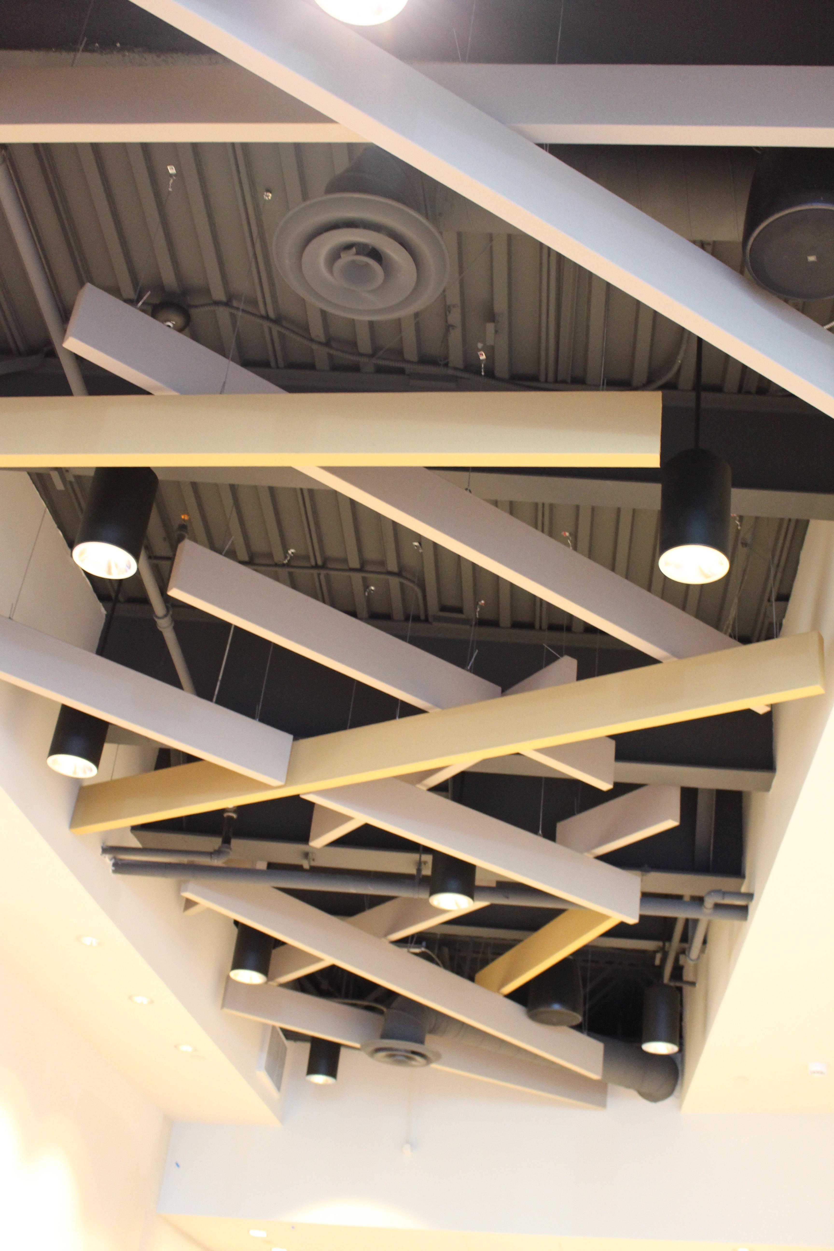 Bird's Nest Ceiling Treatment