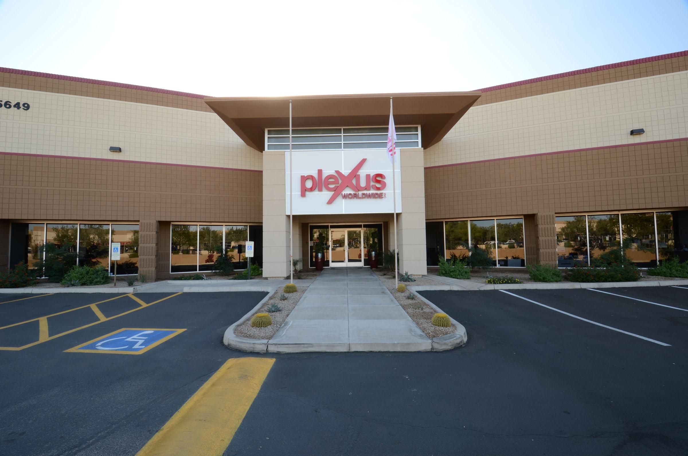 Plexus Logo Signage