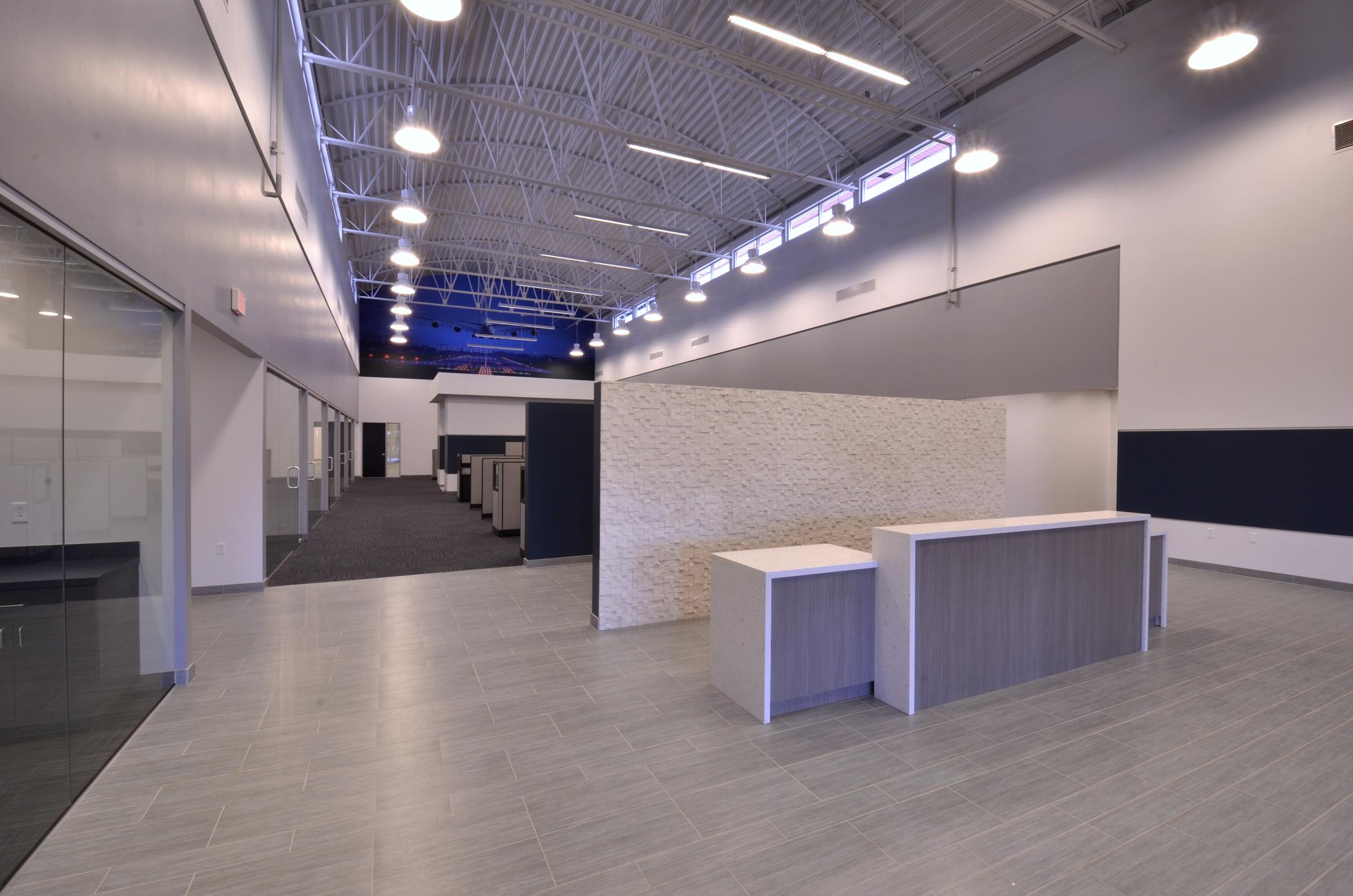Interior Lobby Views