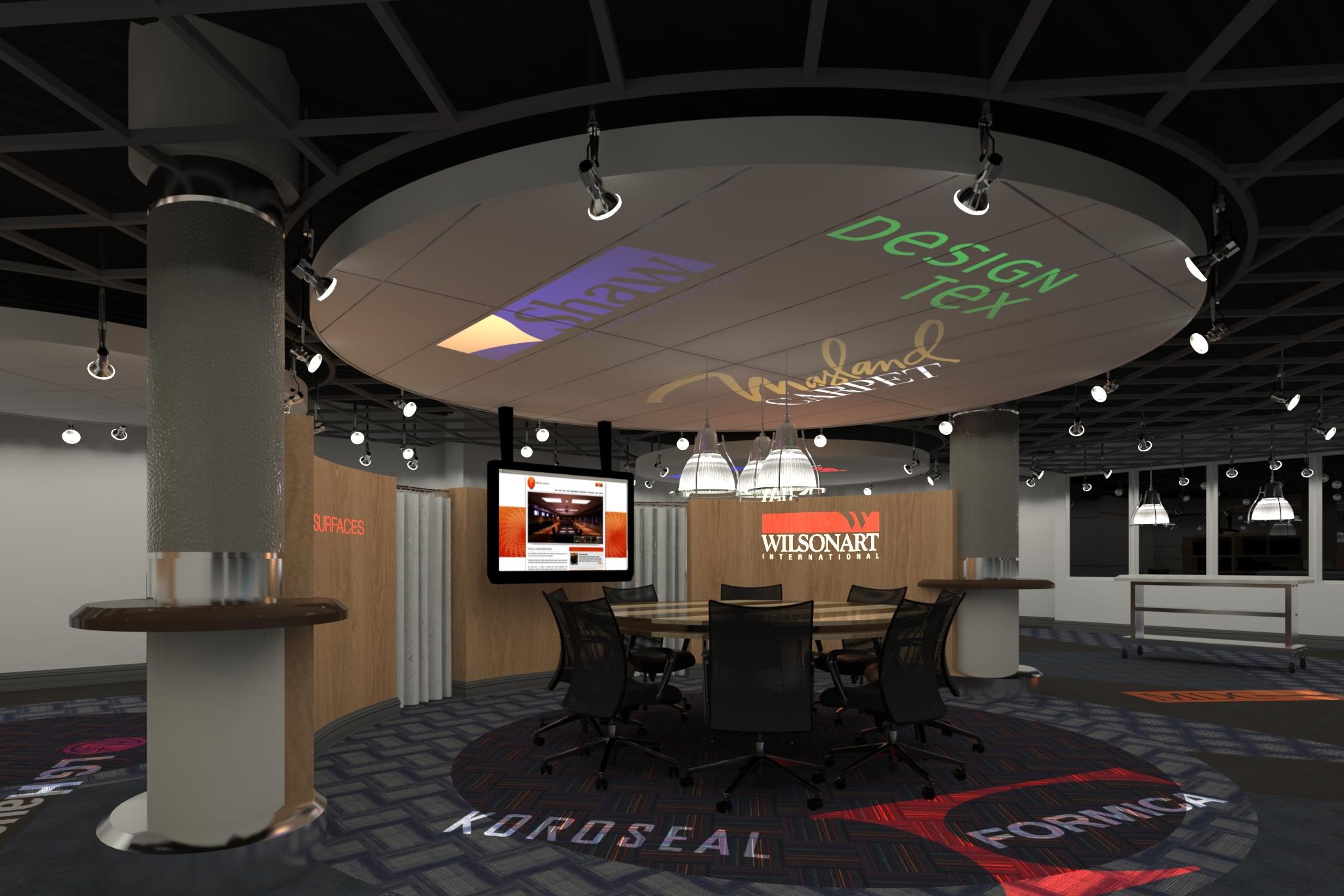 3DRendering of The Showroom