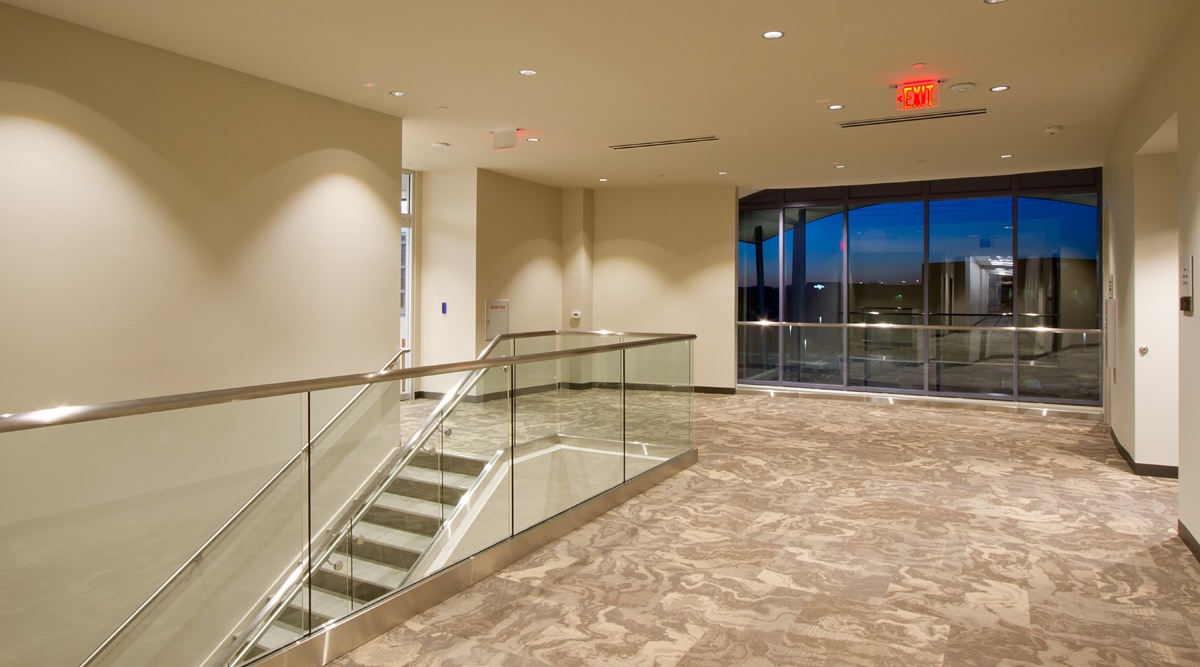 Second Floor Balcony