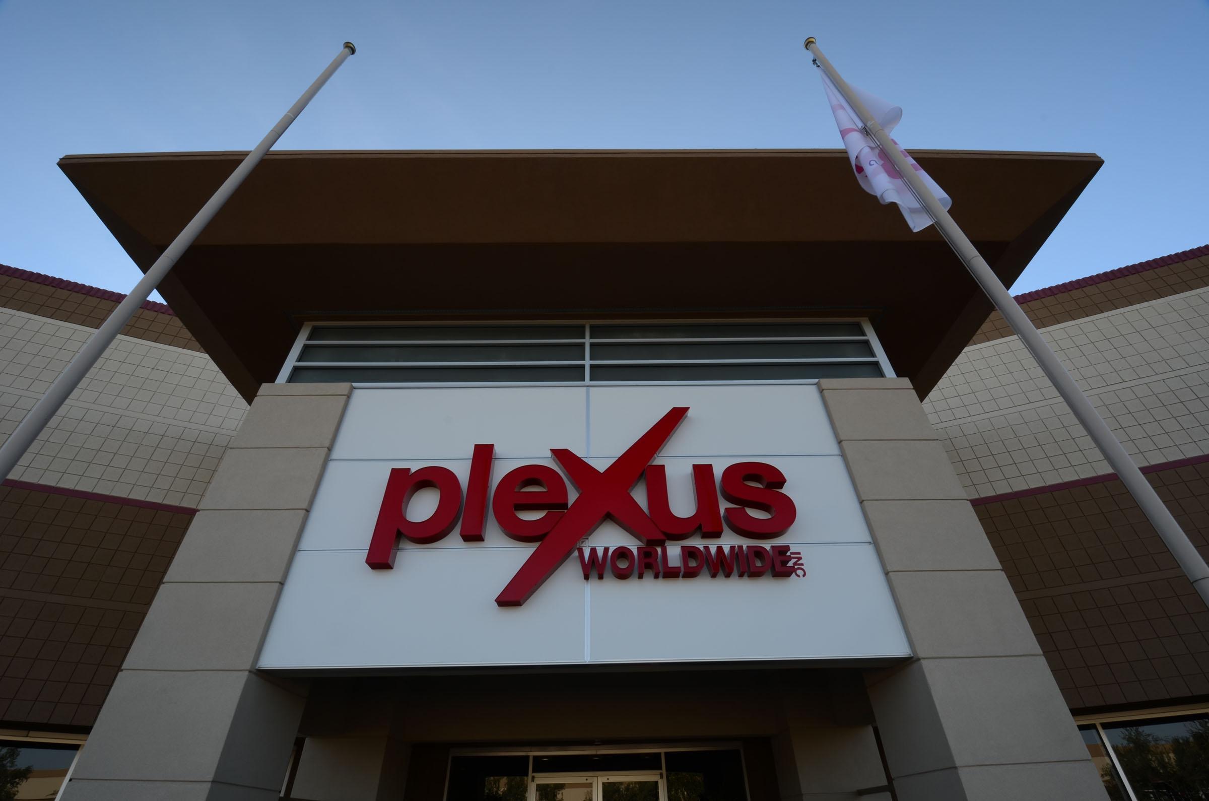 Plexus Exterior Signage