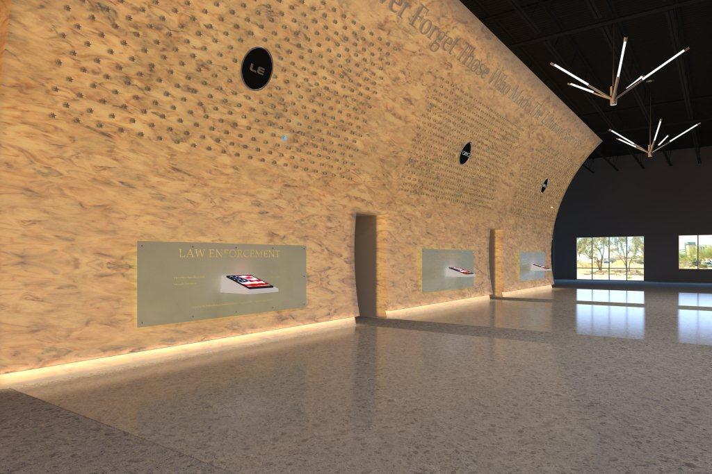 Memorial Wall View