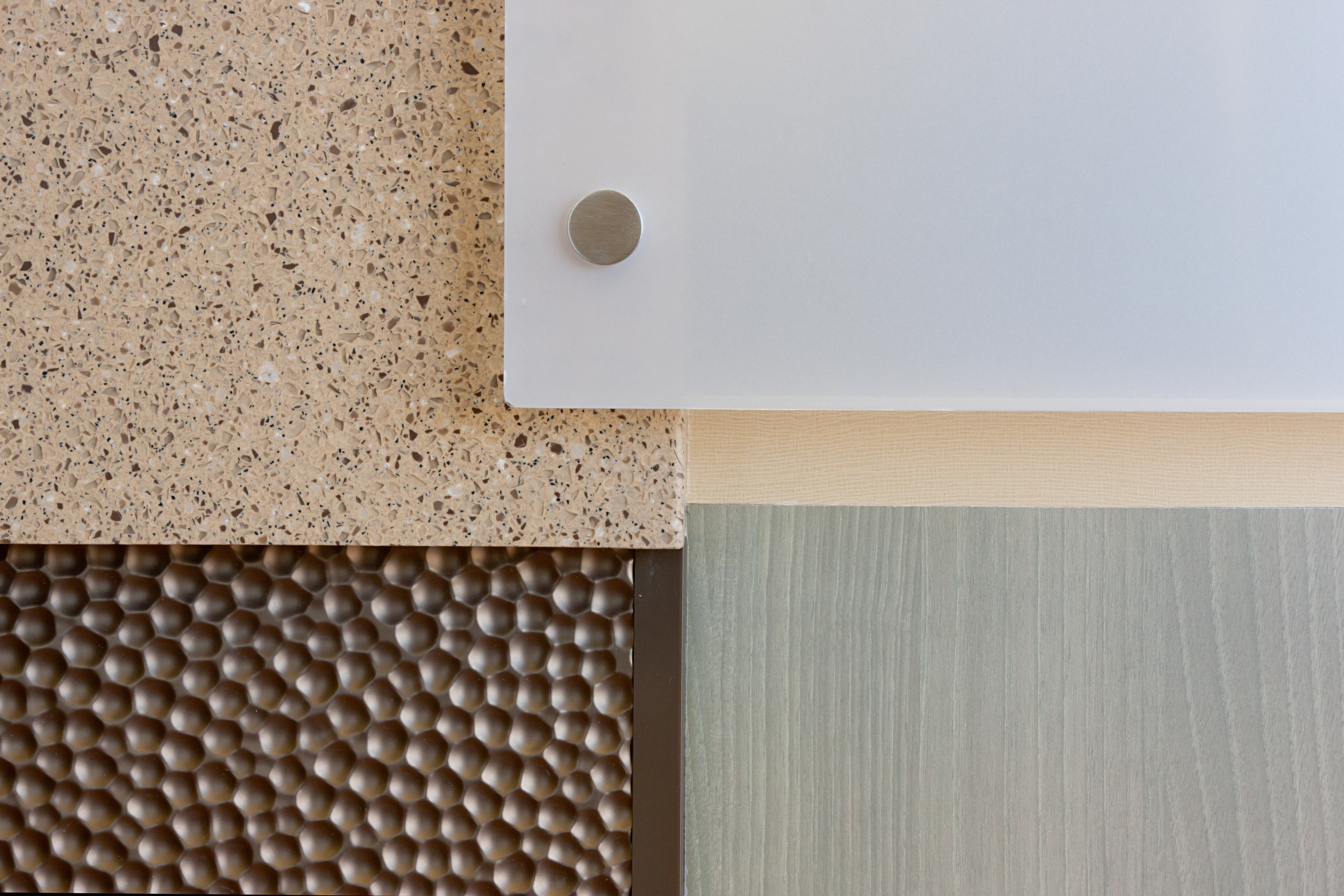 Actual Installed Finishes - Close Up