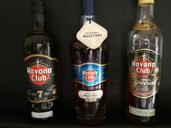 Selection of Havana Club Rum