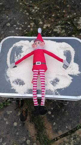 Woodland Elf wants it to snow!