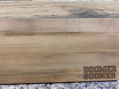 Boomer Sooner Cutting Board