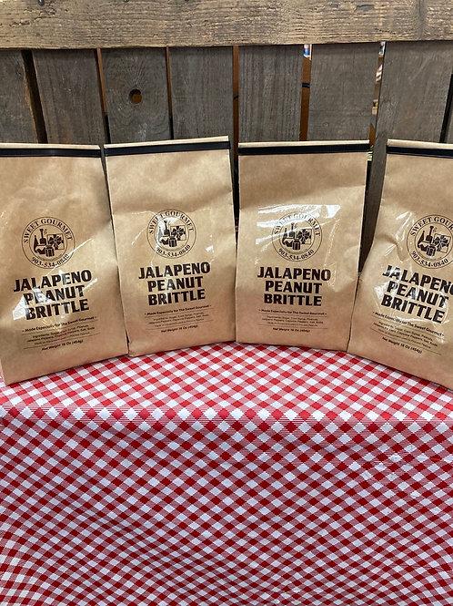 Jalapeno Peanut Brittle - 4 bags