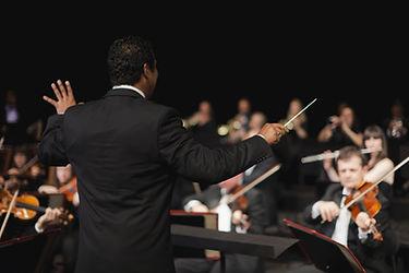 Orchestre Leading Chef d'orchestre