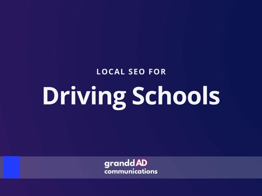 Local SEO For Driving Schools | Granddad Communications