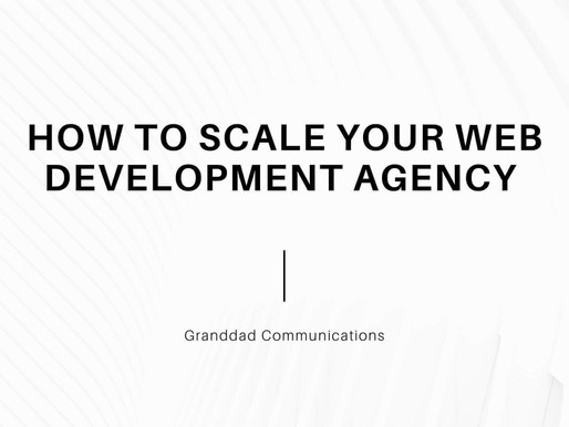 How to scale your Web Development Agency