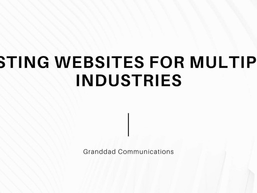 Listing websites for Multiple Industries