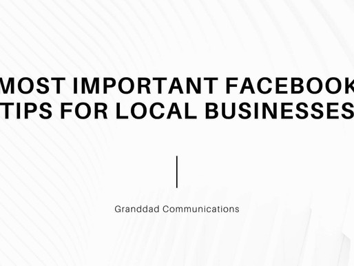 Most important Facebook tips for local Business