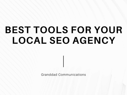 Best tools for your local SEO agency