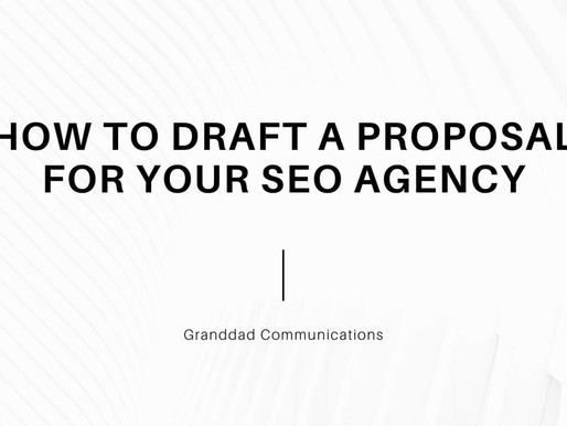 How to draft a proposal for your SEO agency