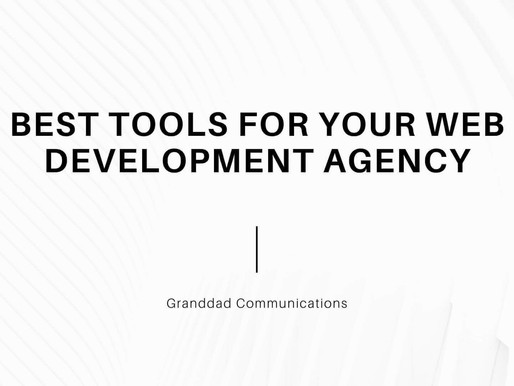 Best Tools for your Web Development agency