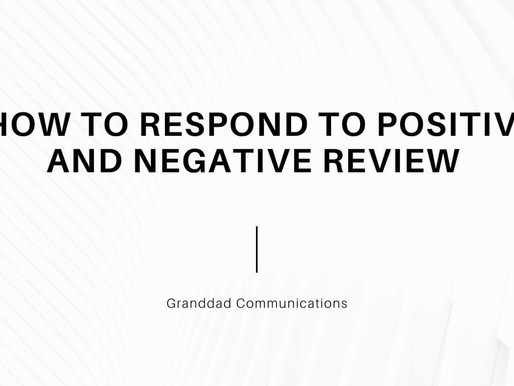 How to Respond to Positive and Negative Review