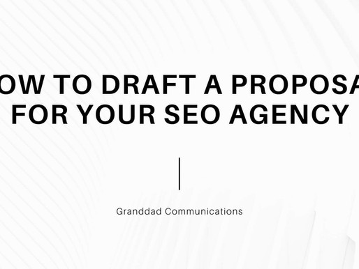 How to draft a proposal for your local SEO agency