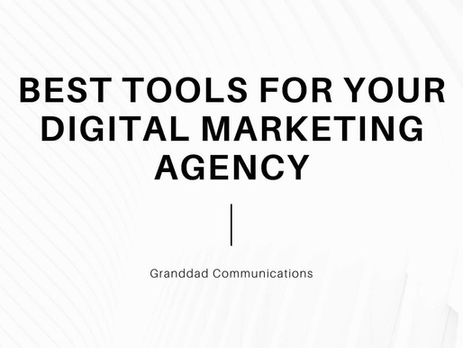 Best tools for Digital Marketing