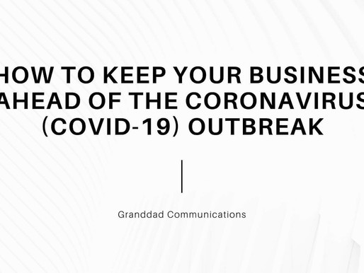 How to keep your business ahead of the coronavirus (covid-19) outbreak